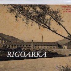 Postales: CAMPDEVANOL (GERONA).- VISTA LATERAL DE LA FABRICA. Lote 47728579