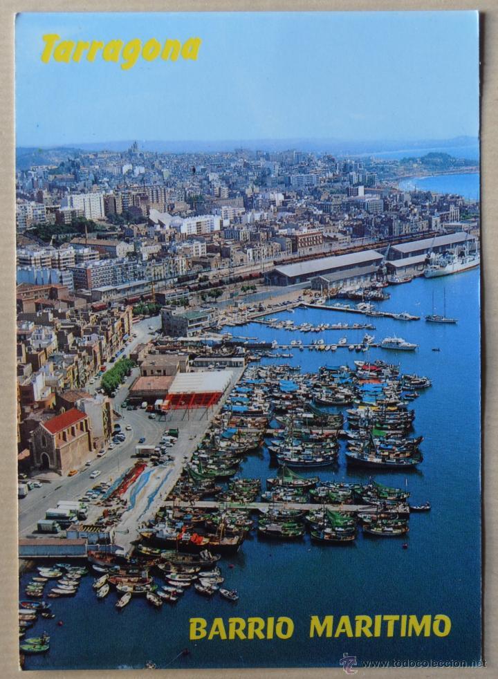 TARRAGONA - VISTA PARCIAL Y PUERTO - 178 - FOTO COLOR RAYMOND (Postales - España - Cataluña Moderna (desde 1940))