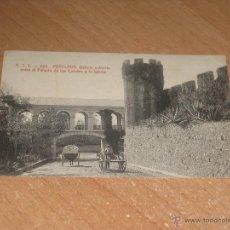 Postales: POSTAL DE PERELADA. Lote 47753346