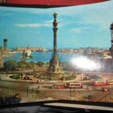 Postales: BARCELONA- MONUMENTO A COLON. Lote 47759643