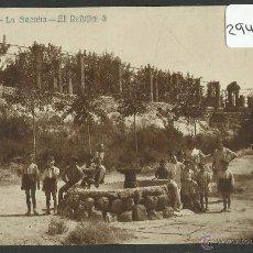 Postales: LA SECUITA - EL REFUGIO - J.B. - FOTOGRAFICA - (29400). Lote 47802852