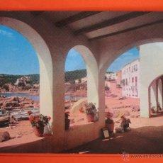 Postales: POSTAL - GERONA - CALELLA DE PALAFRUGELL - HIJOS MARIANO BLASI - NO CIRCULADA. Lote 182996793