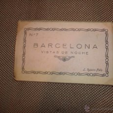 Postales: BLOCK DE 10 POSTALES. BARCELONA. VISTAS DE NOCHE. Nº 7. L.ROISIN. VER FOTOS. Lote 48010189