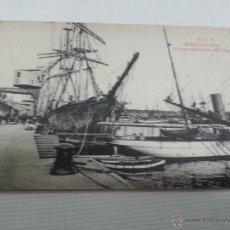 Postales: BARCELONA-GRUAS ELECTRICAS DEL PUERTO-ROVIRA-SIN CIRCULAR-2038 55.. Lote 48433103