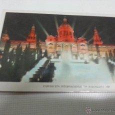 Postales: EXPOSICION INTERNACIONAL DE BARCELONA 1929-PALACIO NACIONAL-111-SIN CIRCULAR-2038 63.. Lote 48435252