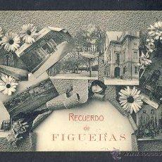 Postales: POSTAL DE FIGUERES: RECORD, 9 VISTES. Lote 48709717