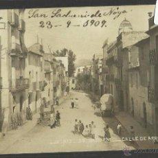 Postales: SANT SADURNI - JV 2 - CALLE DE ARRABAL - FOTOGRAFICA .- (30942). Lote 48736886