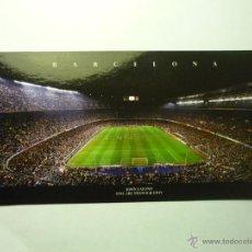 Postales: POSTAL FUTBOL ESTADIO DEL FC BARCELONA .- APAISADA . Lote 48827348