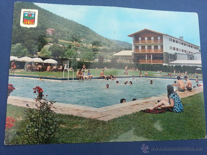 Postal gerona ripoll pirineo catalan hostal comprar postales de catalu a en todocoleccion - Piscina en catalan ...