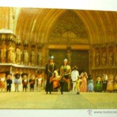 Postales: POSTAL TARRAGONA.-COMPARSA GIGANTES Y CABEZUDOS. Lote 48833825