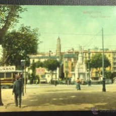 Postales: BARCELONA. PLAZA PALACIO. DR. TRENKLER CO. . Lote 48845430
