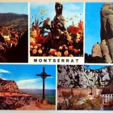 Postales: BARCELONA. MONTSERRAT. VARIAS VISTAS.. Lote 48918655