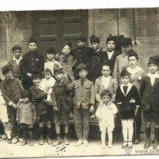 Postales: (PS-45129)POSTAL FOTOGRAFICA DE SEO DE URGEL-CANTO DE CARAMELLAS,12 JUNIO 1924. Lote 48999380