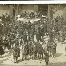 Postales: (PS-45127)POSTAL FOTOGRAFICA DE SEO DE URGEL-SARDANAS EL DIA DE PASCUA DE RESURECCION,1925. Lote 48999477