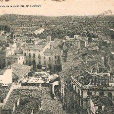 Postales: GRANOLLERS - VISTA DE LA CIUTAT DES DEL CAMPANAR J. MUMBRÚ CIRC. 1925. Lote 49002633