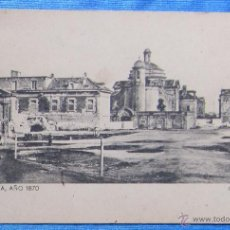 Postales: BARCELONA AÑO 1870. CIUDADELA. SANSOT Y MISSÉ HNOS, BARCELONA.. Lote 49061262