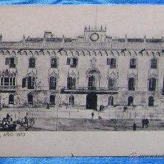 Postales: BARCELONA AÑO 1870. PALACIO. SANSOT Y MISSÉ HNOS, BARCELONA.. Lote 49061320
