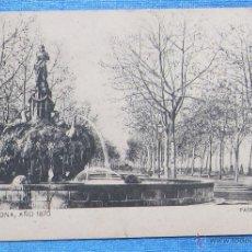 Postales: BARCELONA AÑO 1870. PASEO SAN JUAN. SANSOT Y MISSÉ HNOS, BARCELONA.. Lote 49061348