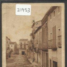 Postales: CASTELLSERA - CARRER DE LA LLIBERTAT - CLIXE ARTIGAS - HUECOGRABADO MUMBRU - (31953). Lote 49080921