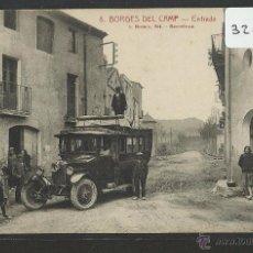 Postales: BORGES DEL CAMP - 8 - ENTRADA - AUTOMOVIL - ROISIN - (32055). Lote 49115414