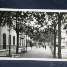 Postales: POSTAL 131 SAN FELIU DE GUIXOLS GIRONA RAMBLA VIDAL EDICION MUR CIRCULADA 1943. Lote 49127062