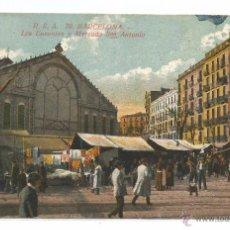 Postales: BARCELONA Nº 70 .- LOS ENCANTES Y MERCADO SAN ANTONIO .- EDICION R.S.A 1231/22. Lote 49160169