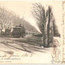 Postales: BARCELONA CALLE DE CORTES 1903. Lote 40595888