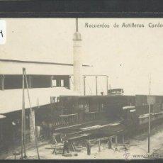 Postales: BARCELONA - RECUERDOS DE ASTILLEROS CARDONA SA - FOTOGRAFICA - (32204). Lote 49186894