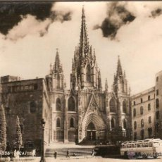 Postales: BARCELONA, CATEDRAL, TALLERES A. ZERKOWITZ - CIRCULADA. Lote 49212774