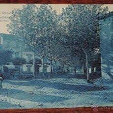 Postales: POSTAL DE SANT ANTONI DE VILAMAJOR .- PLASSA MONTSENY, ED. L. ROISIN, N. 5, CIRCULADA.. Lote 49238210