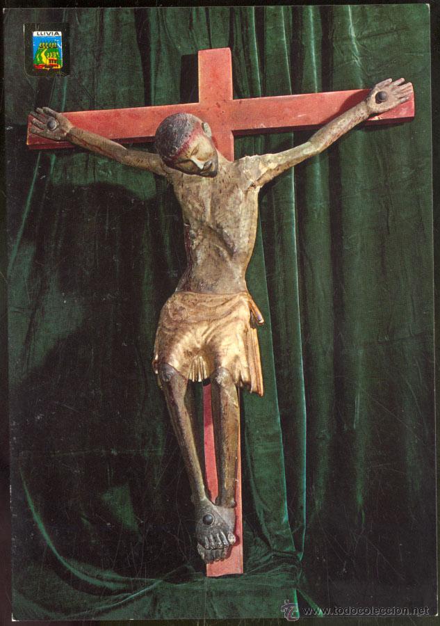 3531- LLIVIA.- CRIST DE TRANSICIÓ ROMANIC-GOTIC DE LLIVIA. SEGLE XIII. (Postales - España - Cataluña Moderna (desde 1940))