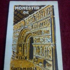 Postales: MONESTIR DE SANTA MARIA DE RIPOLL .- 1ª SERIE .- BLOCK DE 20 POSTALES .- FOTO L. ROISIN. Lote 49294669