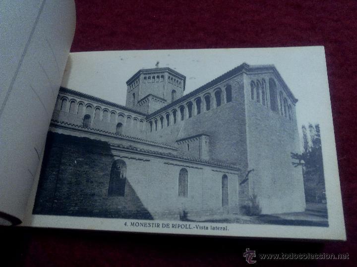 Postales: MONESTIR DE SANTA MARIA DE RIPOLL .- 1ª SERIE .- BLOCK DE 20 POSTALES .- FOTO L. ROISIN - Foto 5 - 49294669