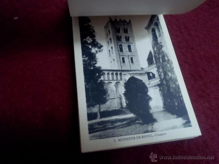 Postales: MONESTIR DE SANTA MARIA DE RIPOLL .- 1ª SERIE .- BLOCK DE 20 POSTALES .- FOTO L. ROISIN - Foto 6 - 49294669