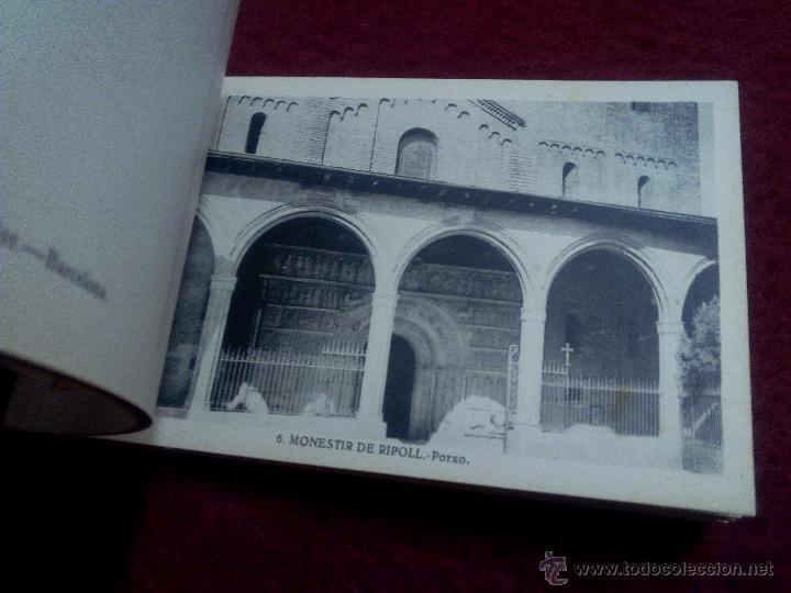 Postales: MONESTIR DE SANTA MARIA DE RIPOLL .- 1ª SERIE .- BLOCK DE 20 POSTALES .- FOTO L. ROISIN - Foto 7 - 49294669