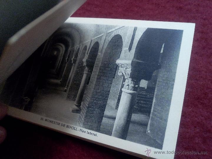 Postales: MONESTIR DE SANTA MARIA DE RIPOLL .- 1ª SERIE .- BLOCK DE 20 POSTALES .- FOTO L. ROISIN - Foto 8 - 49294669