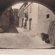 Postales: P- 1225. POSTAL FOTOGRAFICA DE SAN MIGUEL DE FLUVIA. CALLE MAYOR.. Lote 49313516
