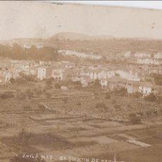 Postales: P- 1224. ANTIGUA POSTAL FOTOGRAFICA DE SAN QUINTI DE MEDIONA. VISTA GENERAL. 1910.. Lote 49315047