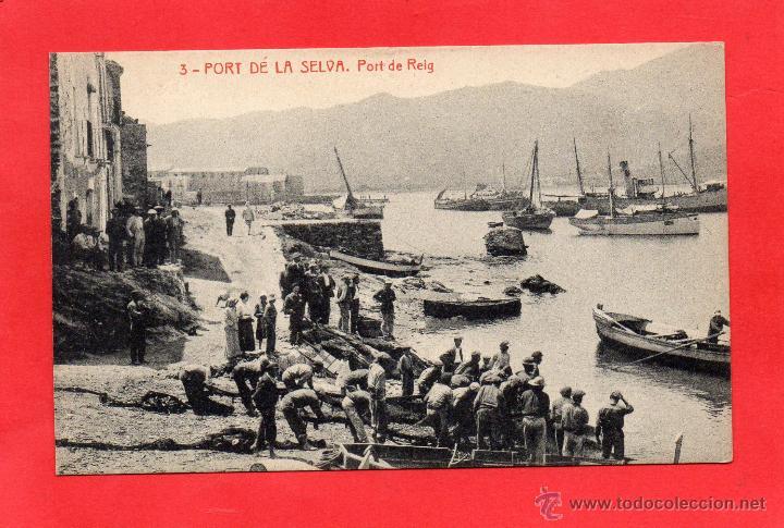 PUERTO DE LA SELVA. 3 PORT DE REIG. THOMAS (Postales - España - Cataluña Antigua (hasta 1939))