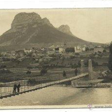 Postales: (PS-45357)POSTAL FOTOGRAFICA DE ORGANYA-PASARELA. Lote 49354479