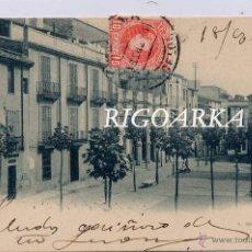 Postales: TARRASA (BARCELONA).- PLAZA ARRABAL. Lote 49407761