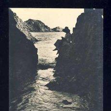 Postales: POSTAL DE SANT FELIU DE GUIXOLS: CALA DEL MOLÍ. FOTOGRAFICA ANTIGA (ED. MUR NUM. 68). Lote 49417395