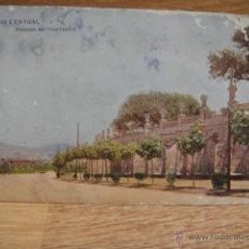 Postales: BARCELONA - PASEO CENTRAL DEL PARQUE DE MONTJUICH -EDICIONES VICTORIA , N. COLL SALIETI. Lote 49441493