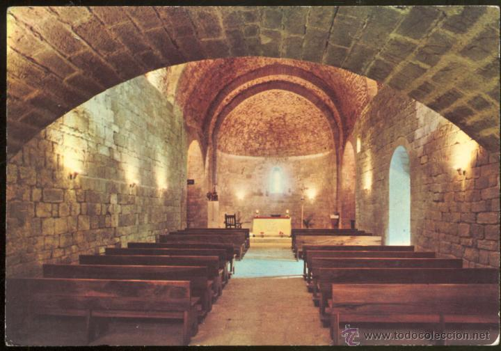 Sta maria de llu a barcelona esglesia roma comprar for Interior iglesia romanica