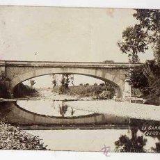 Postales: LA GARRIGA. PUENTE DE L´ATMETLLA. POSTAL FOTOGRÁFICA. Lote 49513352