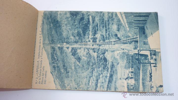 Postales: Instalaciones Hidro-Eléctricas. Lleida. Pobla de Segur. Bloc con 17 postales - Foto 2 - 49520489