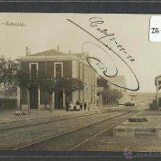 Postales: CALAF - ESTACION DEL FERROCARRIL - FOTOGRAFICA - (ZB-2554). Lote 49529625