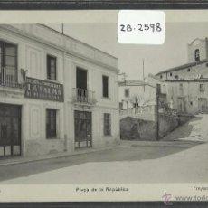 Postales: DOSRIUS - PLAÇA DE LA REPUBLICA - FOTOGRAFICA FREYTAS - (ZB-2598). Lote 49547605