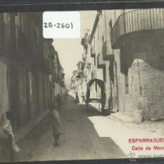Postales: ESPARRAGUERA - CALLE DE MONTSERRAT - FOTOGRAFICA - (ZB-2601). Lote 49548142