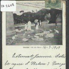 Postales: GELIDA - EL RIO NOVA - IMP LUIS TASSO - REVERSO SIN DIVIDIR - (ZB-2608). Lote 49548413
